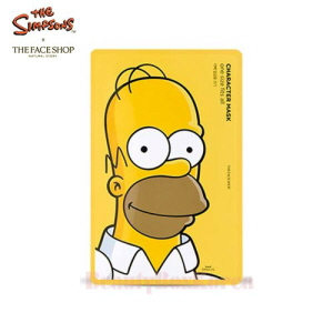 THE FACE SHOP Character Mask Sheet 20g~25g [The Simpsons]